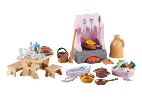 playmobil cuisine castle kitchen 6521 playmobil usa