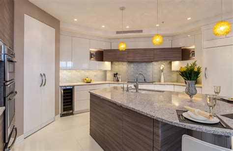 Contemporary Denver Kitchen Features White Glass Cabinets. Small Kitchen Designs With Islands. White Stone Kitchen Countertops. Prefabricated Kitchen Island. Distressed Island Kitchen. Distressed Kitchen Islands. Kitchen Island Chair. Small Corner Kitchen. Modern Small Kitchens