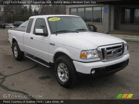 oxford white  ford ranger xlt supercab  medium