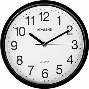 Adalene, Wall, Clocks, Battery, Operated, Non, Ticking