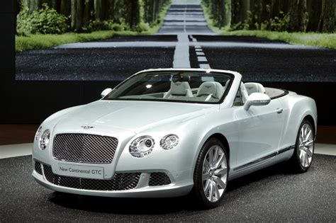 Bentley Continental Photo by Photo Bentley Continental Gtc Ii W12 Cabriolet 2011
