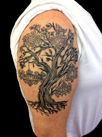 tree tattoo upper arm google search tatoo tattoos