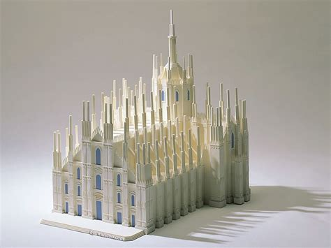 Cathedral Of Milan  Architectual Model Of Cathedral Of