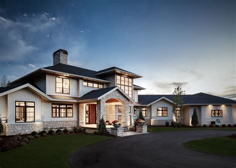 Traditional A Frame Home With Contemporary Style by Traditional Meets Contemporary In Sophisticated Home