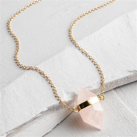 Rose Quartz Gold Pendant Necklace  World Market. Photo Etched Necklace. Husband Wedding Rings. Oblong Watches. Screw Bangles. Macrame Bracelet. 10k Gold Anklet. Modern Bride Engagement Rings. Metal Bangles