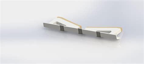 Folding Boat Lift by Folding Retractable Boat Lift 3d Model Ige Igs Iges