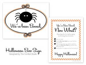 Free Printable Halloween Boo Sign
