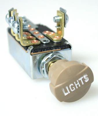 4 position headl switch universal headlight switch