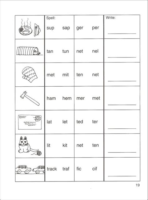 Syllable Worksheets For 2nd Grade English