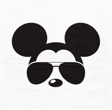 Available in png and vector. Disney Mickey Minnie Mouse Aviators Sunglasses Icon