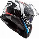 Ls2 Storm Helmet Motorcycle Racer Face Motorbike