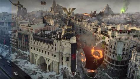 Hbo Convierte Madrid En Un Reino De Juego De Tronos