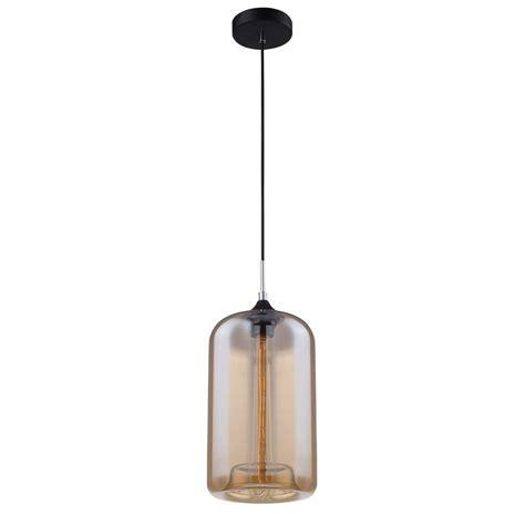 suspension cuisine leroy merlin suspension e27 style industriel soho verre fumé 1 x 40 w