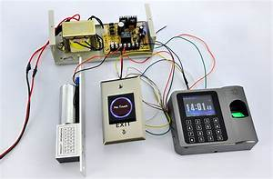 Biometric Time Attendance And Access Machine With Auto