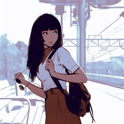 Wallpaper Illustration Anime Artwork Cartoon Black