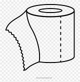 Toilet Coloring Paper Papel Colorear Para sketch template