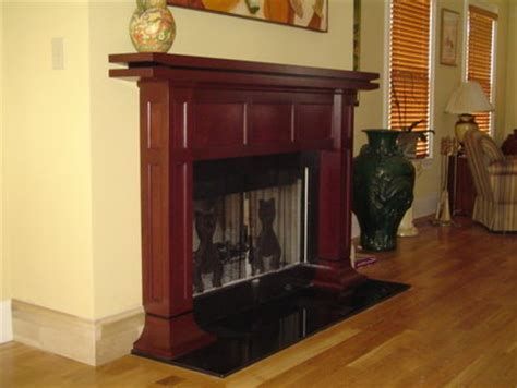 fireplace surround  mantle  asian flavor
