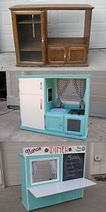 Turn an Old Cabinet into a Kid's Diner   Darren   DIY ...