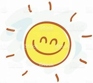 Simple Sun Cartoon Illustration stock vector art 165815788 ...