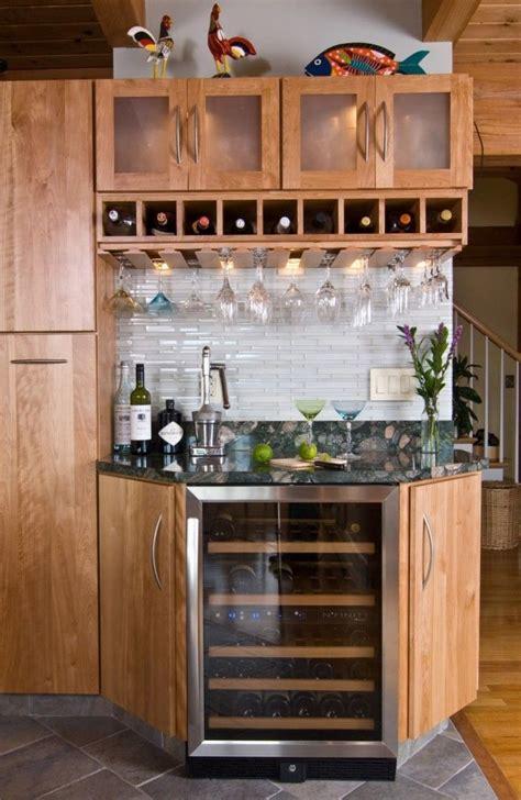 Kitchen Corner Bar Ideas by Fascinating Corner Bar With Wine Bottle Boxes Cabinett