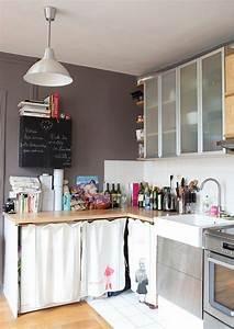 Offener Schrank Vorhang : sweet home aufbewahrung pinterest k che loft gem tliche k che und farbgestaltung k che ~ Markanthonyermac.com Haus und Dekorationen