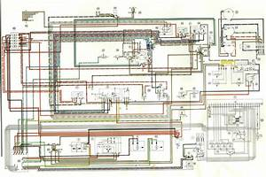 Electrical Diagram 1973 Porsche 914 Part 2