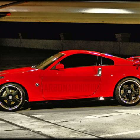 Nissan 350z Nismo V2 Style Carbon Rear Spoiler Carbon