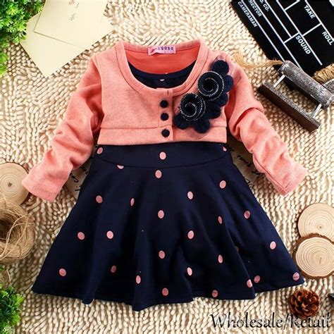 2 year baby girl dresses online 2 year baby girl dresses for sale best new 2 5 years child clothes corsage girl winter