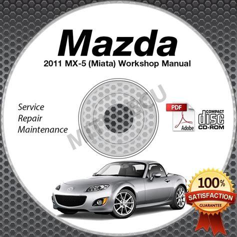 free auto repair manuals 1991 mazda mx 5 parking system 2011 mazda miata mx 5 service manual cd workshop repair 2 0l nc new high def