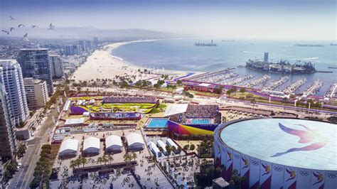 Long Beach Sports Park Images Completes Los Angeles 2024