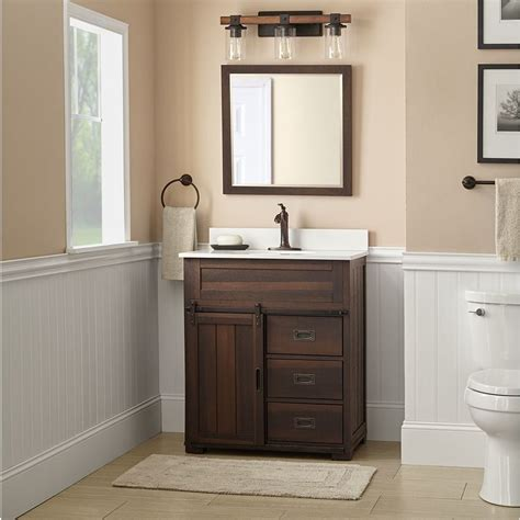 lowes  style selections morriston barndoor farmhouse