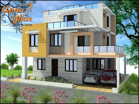 Modern House By Triplex Arquitetura by Beautiful Triplex House Design Along With Commercial Floor