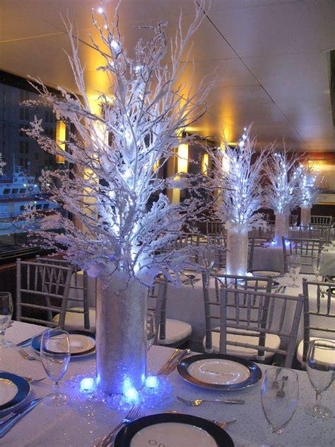 Winter Theme Centerpiece Winter Wonderland Centerpieces