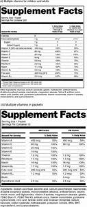 fda nutrition facts label template nutrition ftempo With supplement facts template