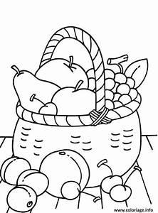 Panier A Fruit : coloriage panier fruits 2016 dessin ~ Teatrodelosmanantiales.com Idées de Décoration
