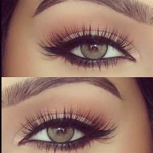 Maquillage Mariage Yeux Vert : 56 id es comment r ussir un maquillage yeux de biche ~ Nature-et-papiers.com Idées de Décoration