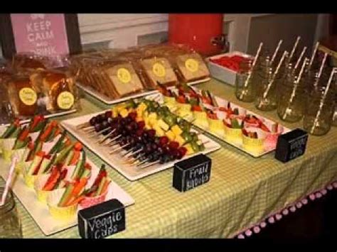 cing easy food ideas easy party food decorations ideas youtube