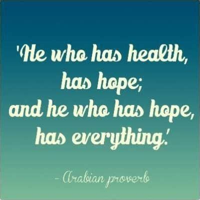 health quotes sayings hope food collection