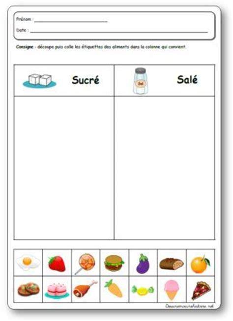 projet d animation cuisine les 5 sens le goût en maternelle projet activités et