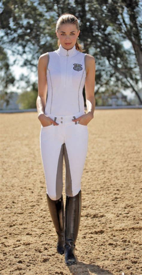 horse clothes riding equestrian boots outfits pants breeches rider outfit english horseback clothing goode ideal silver tank bit apparel horses