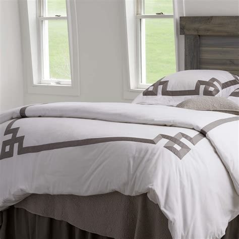 gray king comforter traditions linens bedding collection