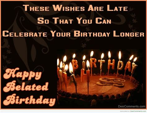 Image result for belated birthday greetings