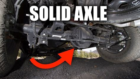 solid axle suspension  truck suspensions work youtube