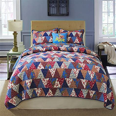 nostalgia home quilts nostalgia home flying geese quilt bed bath beyond