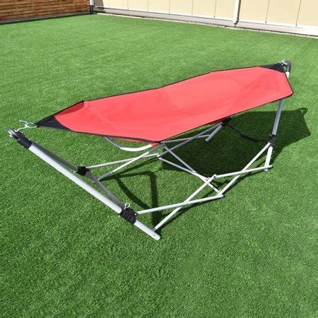 What Stores Sell Hammocks by Portable Folding Hammock Lounge Cing Bed Steel Frame W