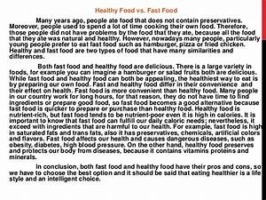 Healthy Foods Essay Creative Writing  Healthy Food Simple Essay  Effect Of Healthy Food On The Mind And Body  Uk Essays