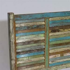Tete De Lit En Bois : t te de lit en bois massif 140 cm pour lit 2 places made in meubles ~ Teatrodelosmanantiales.com Idées de Décoration
