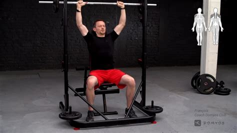 Rack Musculation 500 Domyos Decathlon