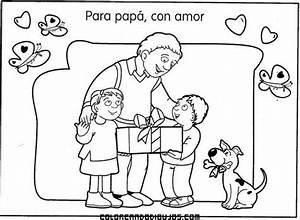Regalo familiar para papá en el día del padre