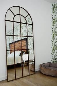 Miroir Maison Du Monde Industriel : le miroir fen tre en 53 photos ~ Teatrodelosmanantiales.com Idées de Décoration